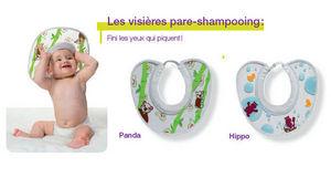 Visière pare-shampoing
