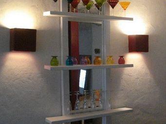 Eco-sensible lifestyle - miroir bar - Miroir Avec Tablette