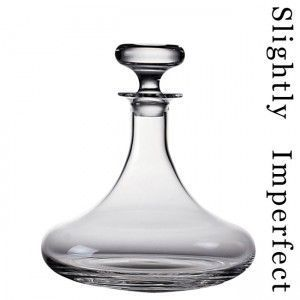 Dartington Crystal - admiral's decanter - slightly imperfect - Carafe À Décanter