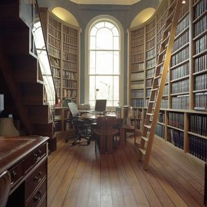 Howdle Bespoke Furniture Makers - oak library - Bibliothèque
