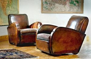 Harvey Brown - leather club armchairs - Fauteuil Club