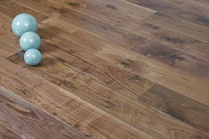 Xylo Flooring - strip american black walnut rustic - Parquet