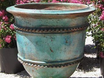 PLANTERS-CONTACT-PROVENCE - vase classique geant polychrome 100cm - Bac D'orangerie