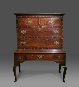 COUNTRY ANTIQUES -  - Commode Sauteuse