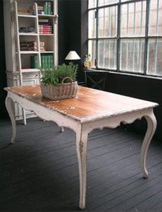 BLEU PROVENCE - vintage white - Table De Repas Rectangulaire