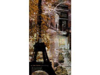 Magel'design - songe parisien 100x200, 3d, effet relief - Tableau Contemporain