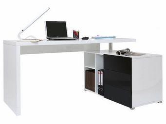 Miliboo - bureau avec plateau amovible maxi - Bureau