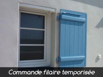 Wimove - wibat linteau sur mesure commande filaire temporis - Automatisme Et Motorisation Pour Volet