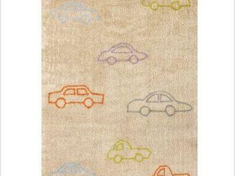 LILI POUCE - tapis voitures multicolors tapis pour enfant color - Tapis Enfant
