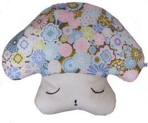 LILI POUCE - coussin forme champignon coloris pastels coussin d - Doudou