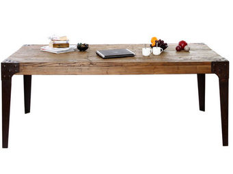 Miliboo - madison table - Table De Repas Rectangulaire