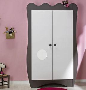 Katherine Roumanoff - armoire bébé doudou taupe - Armoire Enfant