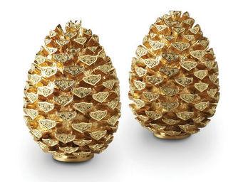L'OBJET - pinecone spice jewels - Salière Et Poivrière