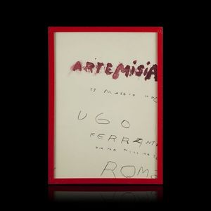 Expertissim - cy twombly. affiche d'exposition - Estampe