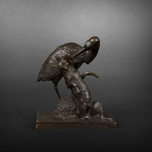 Expertissim - sculpture en bronze du xixe si�cle - Sculpture Animali�re