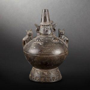 Expertissim - vase-figure. pérou, culture lambayeque - Pichet