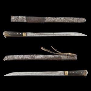 Expertissim - couteau afghan, fin du xixe si�cle - Sabre