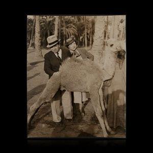 Expertissim - carco francis (1886-1958) avec sa femme à memphis - Photographie