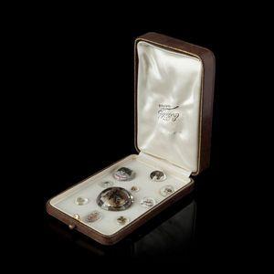 Expertissim - dix médaillons fixés sous verre - Fixé Sous Verre