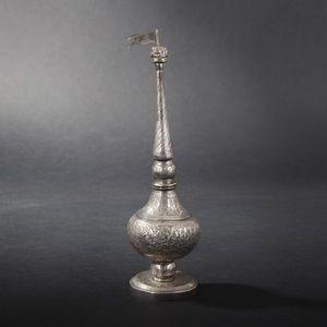 Expertissim - flacon en argent. inde du nord, xixe siècle - Flacon