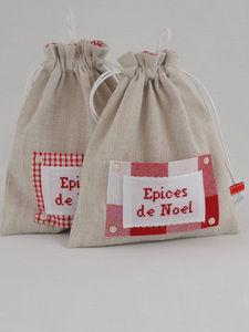 L'atelier de véro - pochon épices de noël - Porte Épices