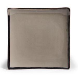 Maisons du monde - assiette plate allure grise - Assiette Plate