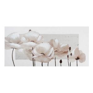 Maisons du monde - toile romance beige - Tableau Décoratif