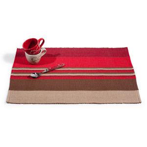 MAISONS DU MONDE - set de table amarante - Set De Table