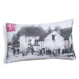 Maisons du monde - coussin postcard - Coussin Rectangulaire