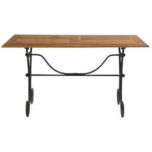 Maisons du monde - table à dîner 140 cm lubéron - Table De Repas Rectangulaire