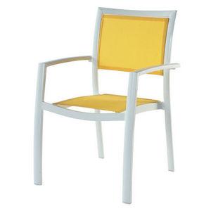 Maisons du monde - fauteuil jaune hawai - Fauteuil