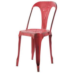 Maisons du monde - chaise rouge multipl's - Chaise De Jardin