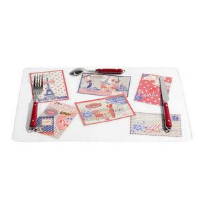 MAISONS DU MONDE - set de table carte postale - Set De Table