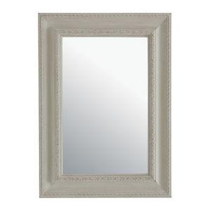 Maisons du monde - miroir léonore beige 65x90 - Miroir