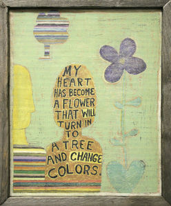 Sugarboo Designs - art print - my heart has become - Tableau D�coratif