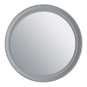 Maisons du monde - miroir elianne rond gris - Miroir