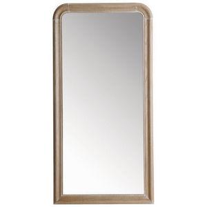Maisons du monde - miroir louis naturel 80x160 - Miroir