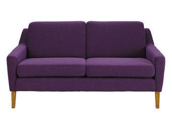 Maisons du monde - banquette 2 places linara violet mad men - Banquette
