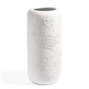 Maisons du monde - vase fleur blanc - Vase À Fleurs