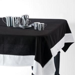 Maisons du monde - nappe diamant noir - Nappe Rectangulaire