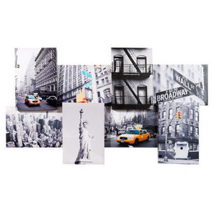Maisons du monde - toile micmac new york city - Tableau Décoratif