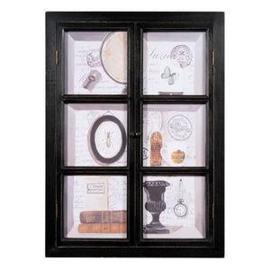 Maisons du monde - tableau fenêtre curiosités - Tableau Décoratif