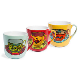 Maisons du monde - assortiment de 6 mugs darjeeling - Mug