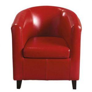 Maisons du monde - fauteuil rouge nantucket - Fauteuil