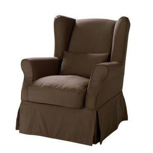 blanc Cottage MAISONS lin fauteuil MONDE Housse de Housse DU IWDE2H9