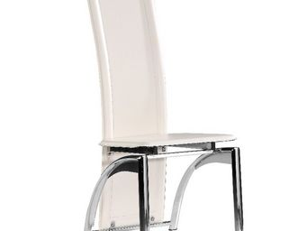 CLEAR SEAT - chaise moderne iris blanche - Chaise