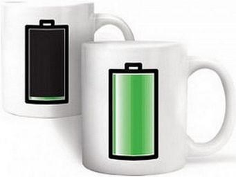 Manta Design - mug design battery - Mug