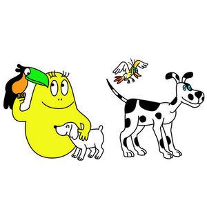 ALFRED CREATION - stickers barbidou et lolita - Gommettes