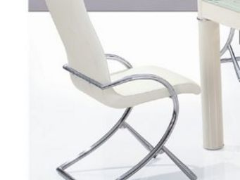 CLEAR SEAT - chaise boreal blanche - Chaise
