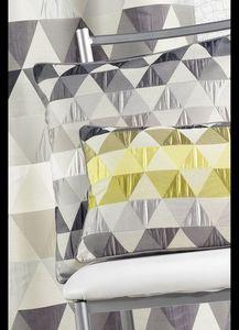HOMEMAISON.COM - coussin en jacquard aux motifs géométriques - Coussin Carré